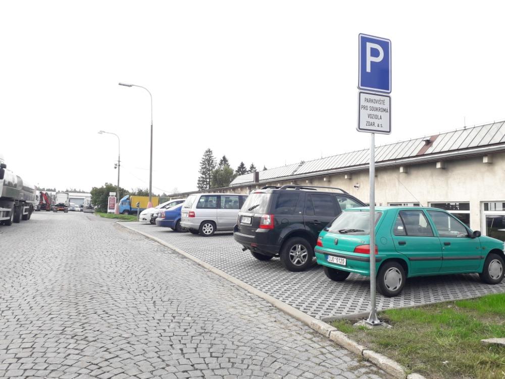 nové parkoviště